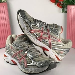ASICS Gel GT-2150 Athletic Silver/Pink Size 9.5